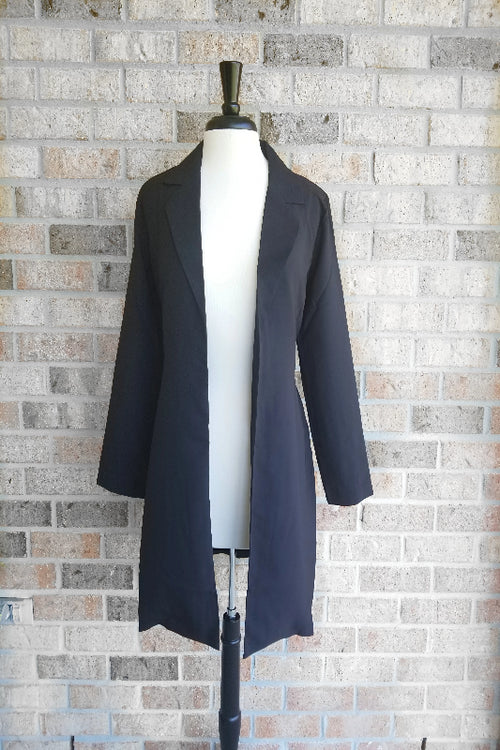 Movin' On Long Jacket - Spoiled Me Rotten Boutique