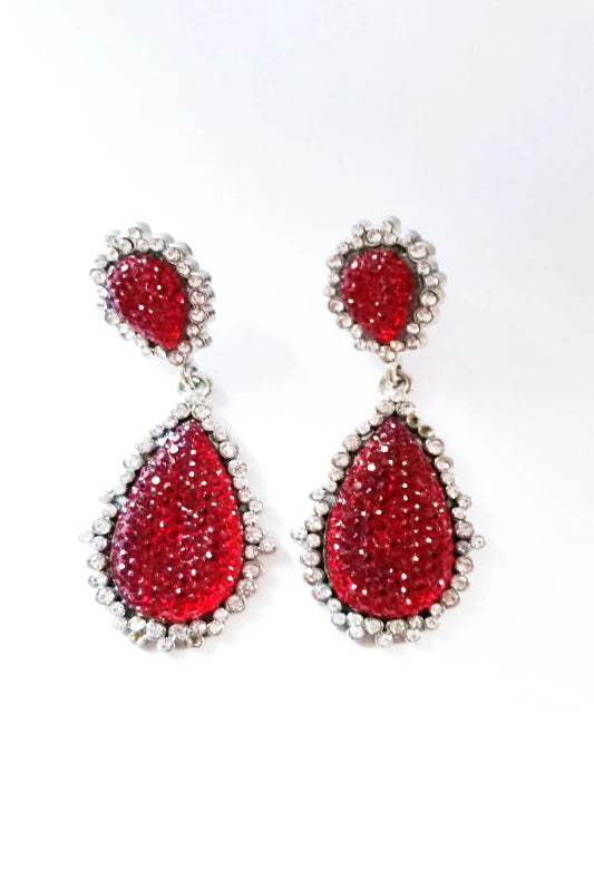 JEWEL DROP EARRING - Spoiled Me Rotten Boutique