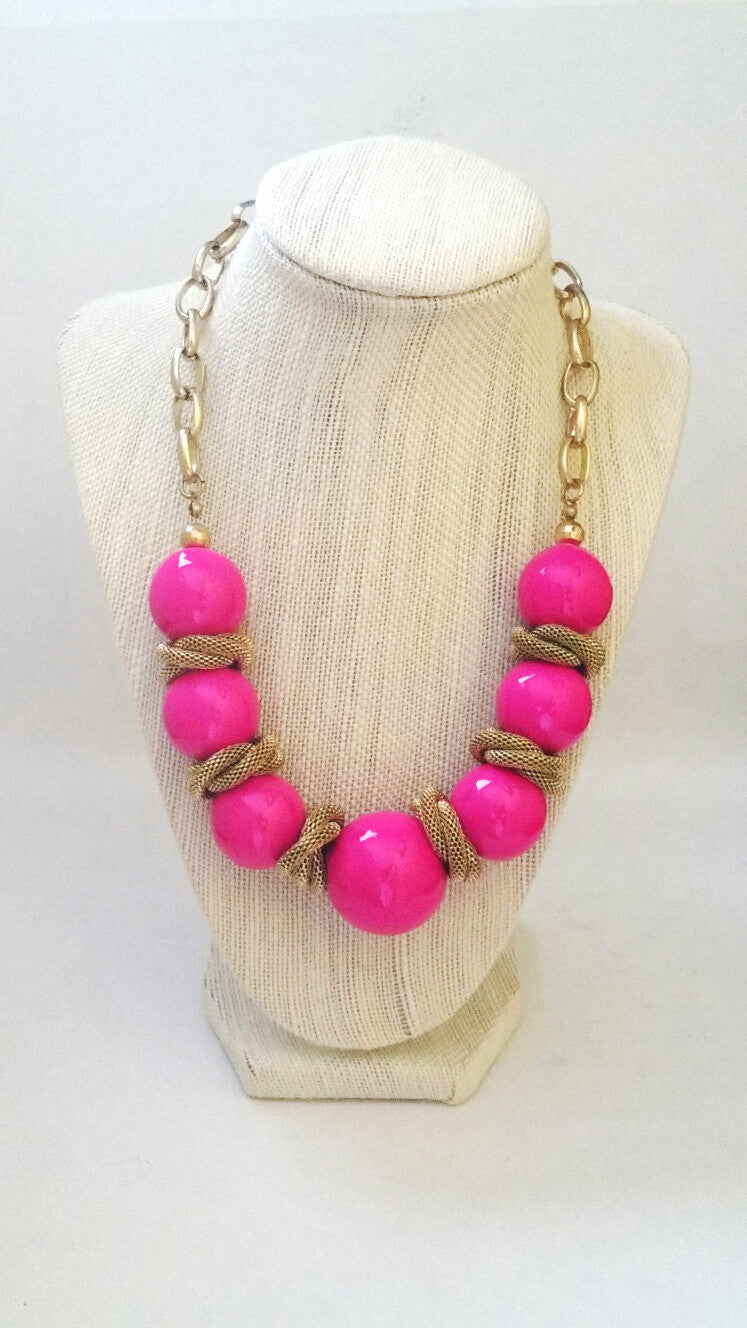 GumBall Gold Necklace - Spoiled Me Rotten Boutique