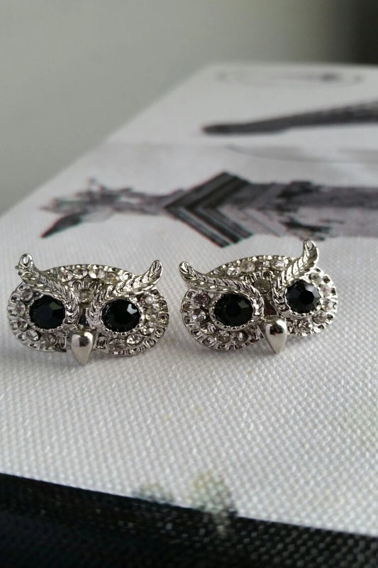 Owl Stud Earrings - Spoiled Me Rotten Boutique