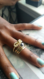 Pearl Multi Ring Set - Spoiled Me Rotten Boutique