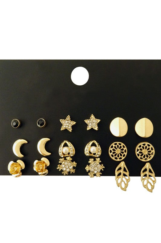 Escape Earring Set - Spoiled Me Rotten Boutique
