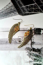 Angel Wings Earrings - Spoiled Me Rotten Boutique