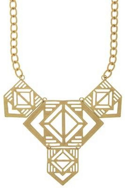 Aztec Inspired Necklace - Spoiled Me Rotten Boutique