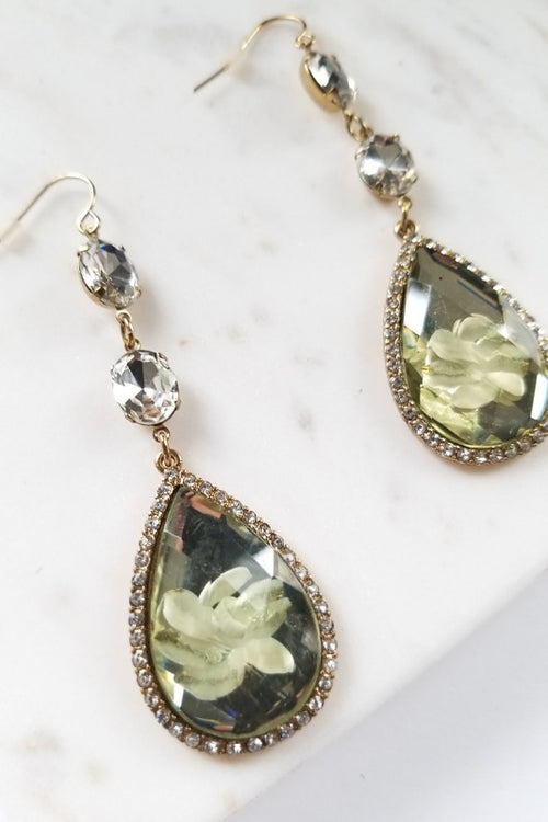 Flower Petals Earrings - Spoiled Me Rotten Boutique