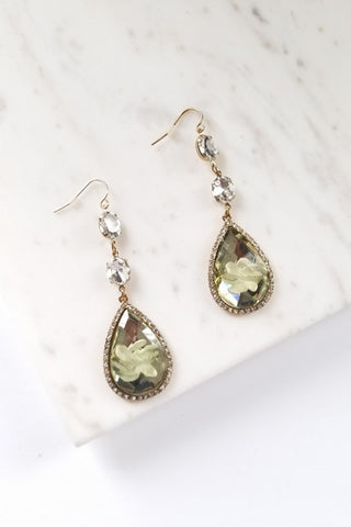 Crystal Bar Earring