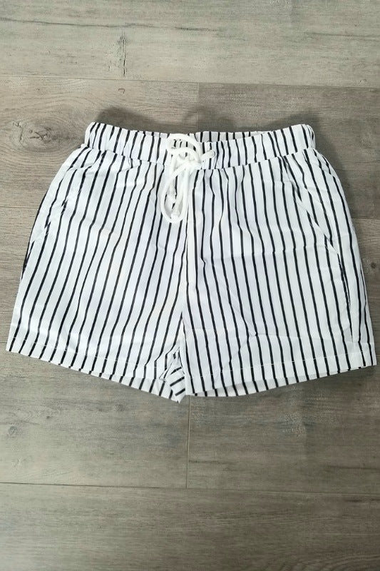 Coco Striped Shorts - Spoiled Me Rotten Boutique