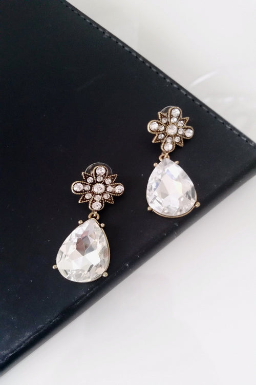 Water Drop Earrings - Spoiled Me Rotten Boutique