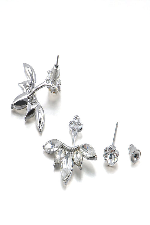Pleated Stud Earrings - Spoiled Me Rotten Boutique