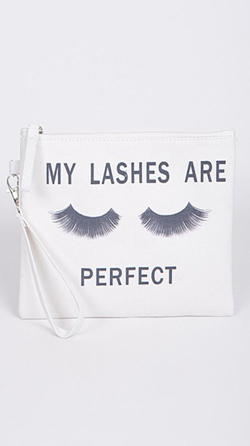 My Lashes Are Perfect Clutch - Spoiled Me Rotten Boutique