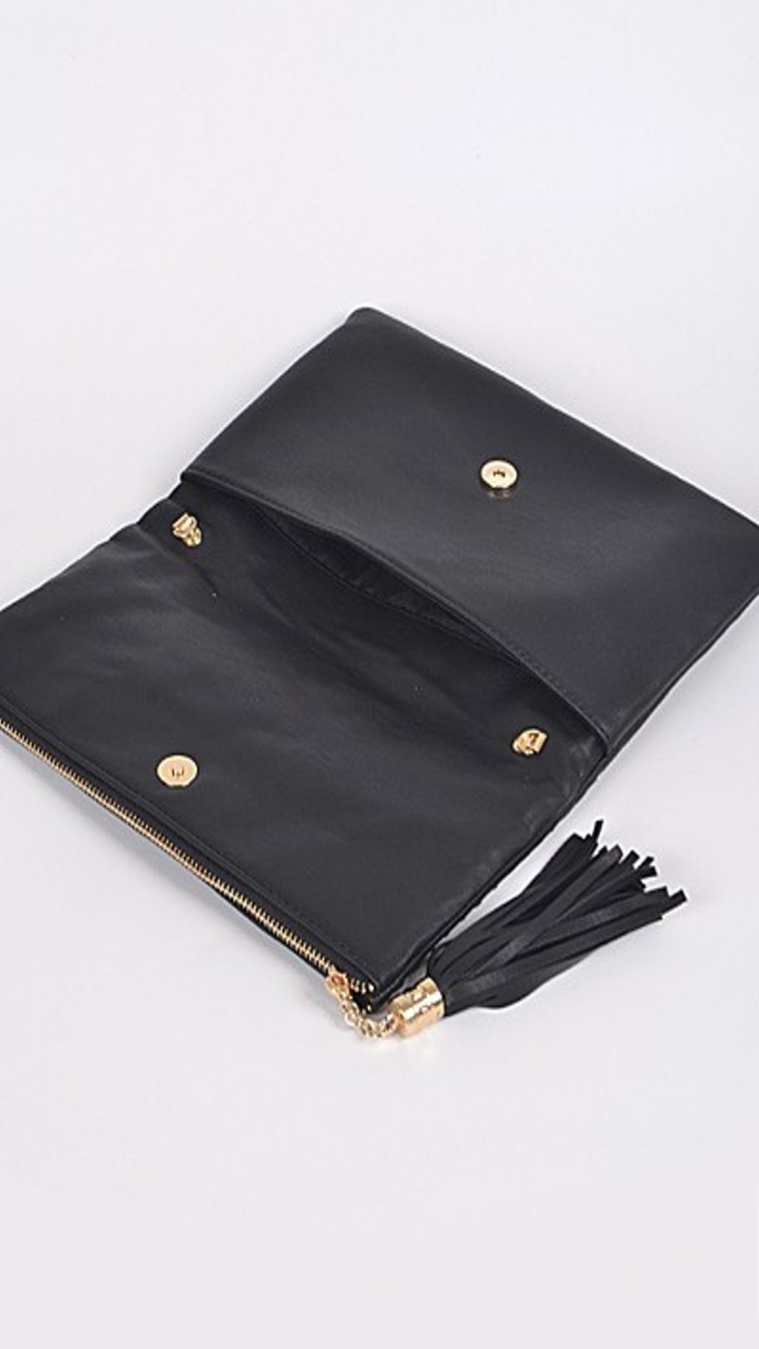 Luxe Stitch Detail Clutch - Spoiled Me Rotten Boutique