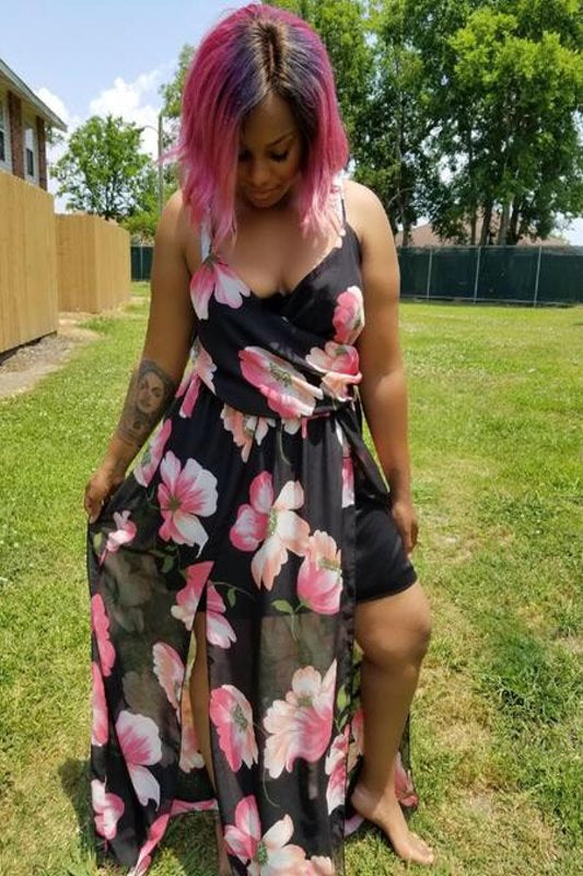 Plus Size Floral Maxi Dress | Spoiled Me Rotten – Spoiled Me ...