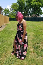 Plus Size Floral Maxi Dress - Spoiled Me Rotten Boutique