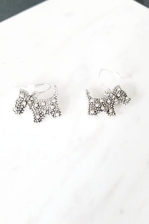 Scottish Dog Earrings - Spoiled Me Rotten Boutique