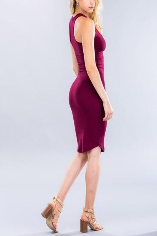 Sleeveless Bodycon Dress - Spoiled Me Rotten Boutique