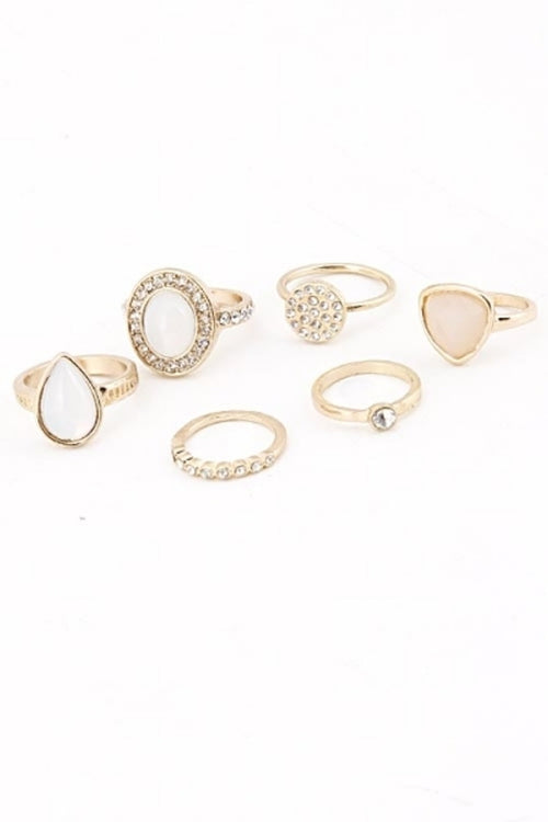 Stackable Ring Set - Spoiled Me Rotten Boutique