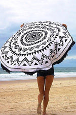 Tribal Pattern Convertible Beach Throw - Spoiled Me Rotten Boutique