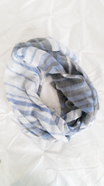 STRIPE PRINT INFINITY SCARF - Spoiled Me Rotten Boutique