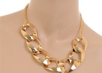 Chain Link Necklace - Spoiled Me Rotten Boutique