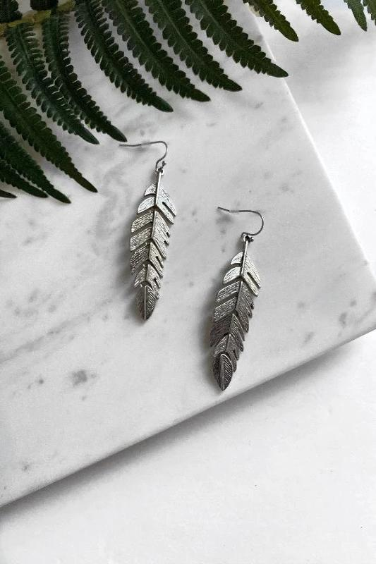 Keep Leaf Earrings - Spoiled Me Rotten Boutique