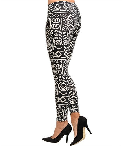 Tribal Leggings - Spoiled Me Rotten Boutique