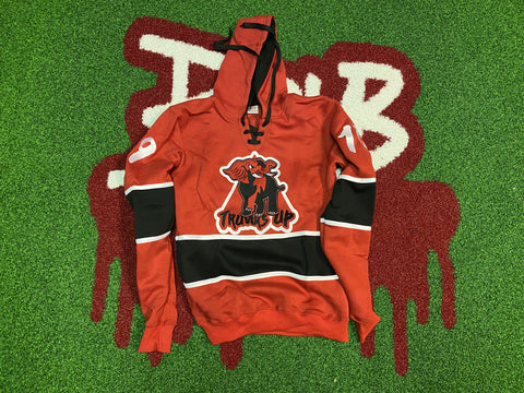 Trunks Up Hockey Hoodie