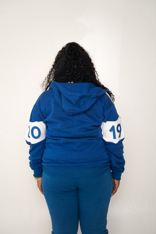 BLUE 1920 JOGGING SUIT