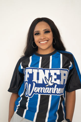 EMBROIDERED Finer Womanhood Jersey
