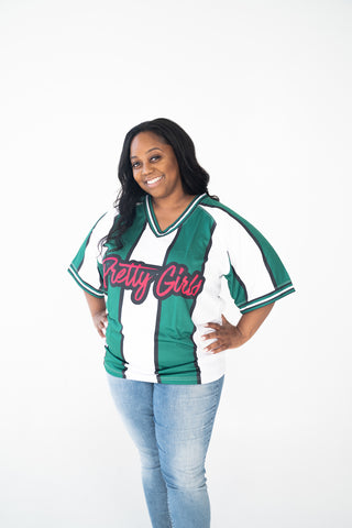 Striped Pretty Girls Jersey