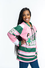Ivy League Embroidered Hockey Jersey