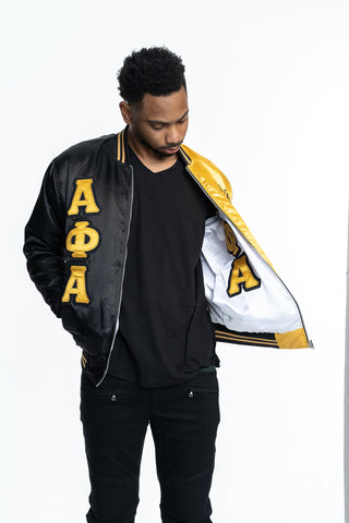 Alpha Phi Alpha Satin Reversible Jacket