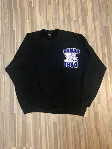 SIGMA CHENILLE SWEATSHIRT (SEVERAL COLORWAYS)