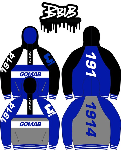 Reversible GOMAB Windbreaker (SHIPS END OF AUGUST)