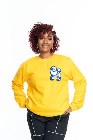 POODLE CHENILLE SWEATSHIRT (SEVERAL COLORWAYS)
