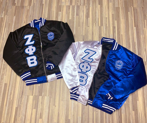 CLEAR ZETA REVERSIBLE JACKET