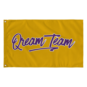 Qream Team Wall Flag