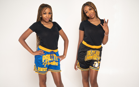 Pretty Poodles Reversible Basketball Shorts