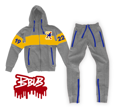 GREY 1922 JOGGING SUIT