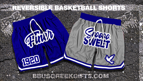 So Sweet Reversible Basketball Shorts