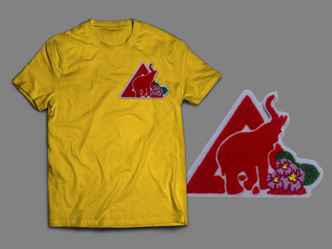 Pyramid Chenille T-shirt (Several Colorways)