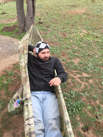 Freedom Hammock With Tree Straps