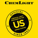 6 INCH TACTICAL 12 HOUR CHEMLIGHTS, YELLOW