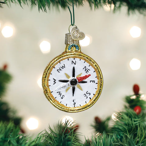 Compass Ornament