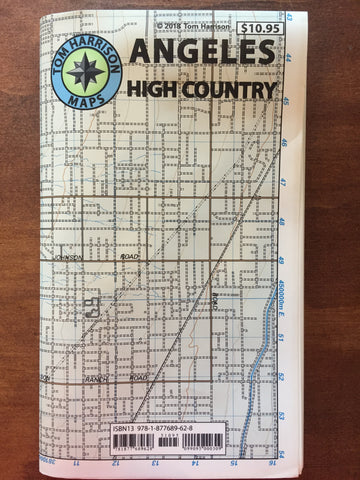 Angeles High Country Map