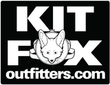 "KFO Square ""Get The Fox Out There!"" Sticker"