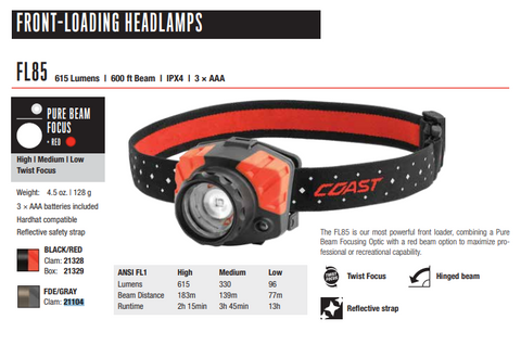 FL85 Headlamp