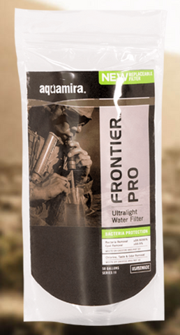 Aquamira Tactical Frontier Pro Ultralight Water Filter