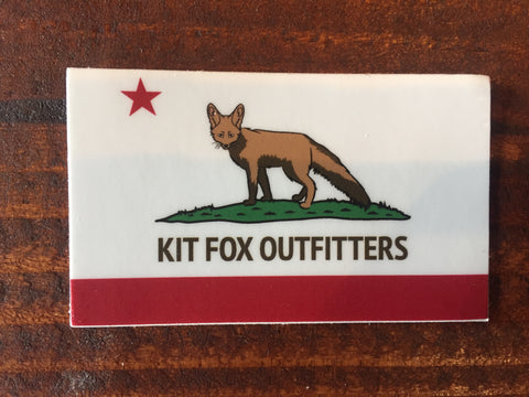 KFO Flag Sticker