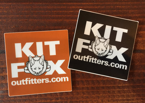 KFO Square Logo Sticker