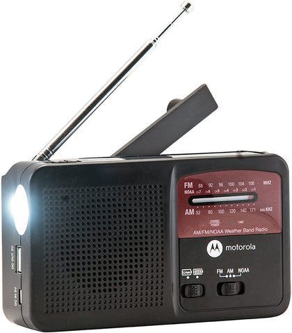Motorola Rechargeable Weather Radio ATMOS800